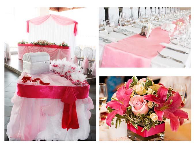 Як прикрасити зал на весілля