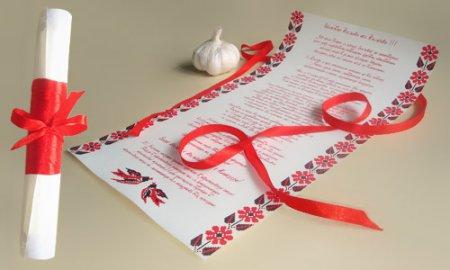 Як зробити запрошення на весілля