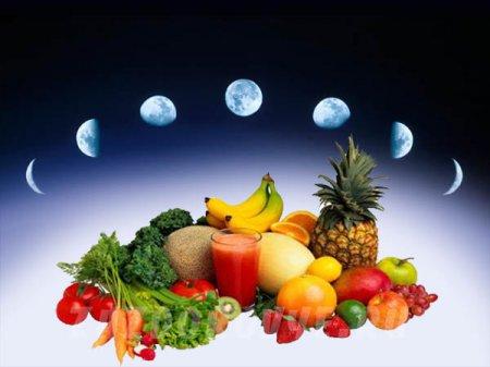 Харчуємося у відповідності з циклами місяця: місячна дієта