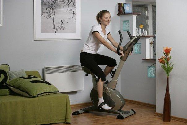 Вправи для ніг. Тренування на велотренажері