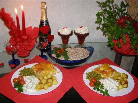 Как сделать романтический ужина дома 95